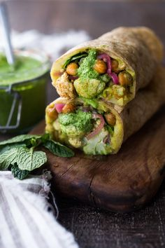 Frankie/Mumbai Burrito #vegan #dinner #lunch #potatoes #tacos #chickpeas