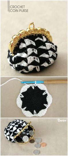 Crochet Coin Purse Tutorial