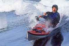 Rough water sea kayaking including open ocean, rock gardens, tidal rapids and sea kayaks in surf. Canoe And Kayak, Kayak Fishing, Whitewater Kayaking, Canoeing, Trekking, Ski, Sports Painting, Water Aerobics, Sports