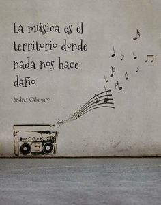 Andrés Calamaro Music Quotes, Words Quotes, Wise Words, Life Quotes, Sayings, Music Love, Music Is Life, My Music, Mots Forts