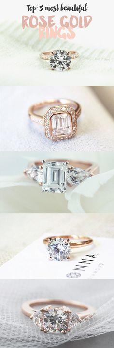 Top 5 most beautiful Rose Gold Rings!