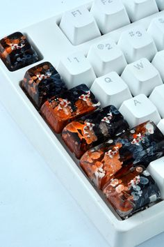Handmade Gifts For Him, Outdoor Ponds, Meaningful Gifts, Thoughtful Gifts, Koi, Keyboard, Cherry, Artisan, Fish