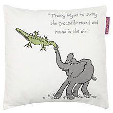 Buy Roald Dahl The Enormous Crocodile Cushion Online at johnlewis.com