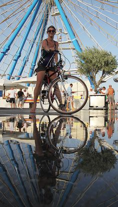 """""""In bici alla #molostreetparade"""" by vanz, via Flickr"""