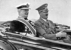 [Photo] Regent Miklós Horthy of Hungary with Führer Adolf Hitler of Germany, circa late - Picsize Website Budapest, Croiseur Lourd, Capital Of Hungary, Prinz Eugen, Ww2 Photos, History Page, The Third Reich, Royal Navy, Special Forces