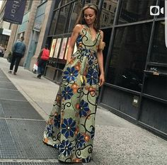 African Fashion Is Hot African Wear Dresses, African Attire, Chitenge Dresses, Ghanaian Fashion, Ankara Fashion, Ankara Maxi Dress, Beautiful Ankara Styles, Printed Gowns, Africa Fashion