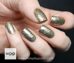 NCLA Black Market Collection Swatches, Review and GIVEAWAY!! : work / play / polish