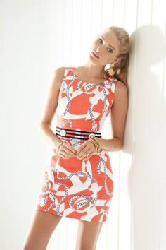 Lilly Pulitzer..... Want this for our cruise in December. :-)