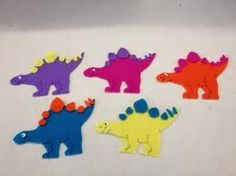 Fingerplays & Action Rhymes: Five Dinosaurs