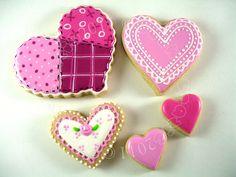Cookie crazie valentine cookies - lilac
