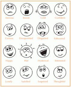 8 Best Images of Feeling Faces Printables - Printable Feelings Faces Emotions, Printable Emotions Chart for Kids and Feelings Faces Chart Emotions Feelings Chart, Feelings And Emotions, Emotions Cards, Feelings Activities, Emotions Preschool, Teaching Emotions, Emotion Faces, Emotional Strength, Emoticons