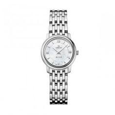 Omega Ladies Omega De Ville Prestige Quartz Steel Watch - Small Image