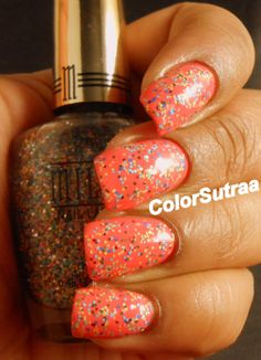 MILANI Spring 2014 collection : Swatches and Review (PART II) Sugar High (over Colorful Coral)