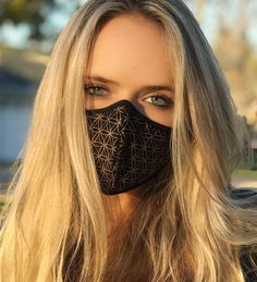Flower of Life Air Pollution Face-mask Sacred Geometry Nanotechnology, Raves, Mouth Mask, Air Pollution, Life Design, Flower Of Life, Diy Mask, Fashion Face Mask, Sacred Geometry