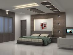 Image result for wooden false ceiling design for master bedroom
