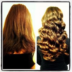 hair extension for wedding thicker and longer hair .Before and After hair extensions!! Love it! | Yelp