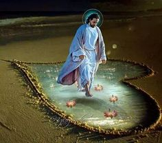 Jesus in my heart Christ The King, King Jesus, Pictures Of Jesus Christ, Just Magic, Blessed Sunday, Heart Of Jesus, God Prayer, Beautiful Love, Christian Art