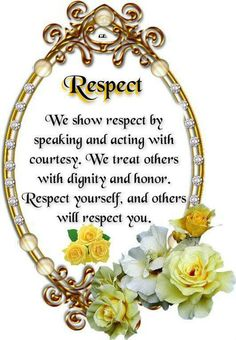 Show respect receive respect, simple as that! Respect Yourself, Forgiving Yourself, English Thoughts, Good Deeds, Cool Eyes, Positive Thoughts, Wise Words, Happy Birthday, Inspirational Quotes