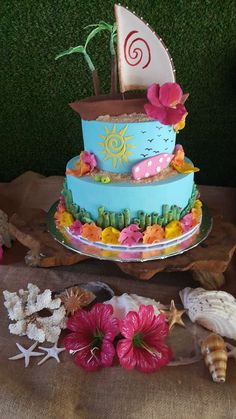 Moana Birthday Party Ideas | Photo 1 of 7