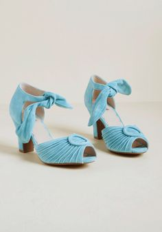 b71bd1a4698a39 Miss L Fire Trial and Era Suede Heel in Sky Blue