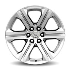 Escalade ESV 22 inch Wheel, Chrome, CK157, SINGLE: Personalize your Escalade ESV with these 22-Inch Chrome Accessory Wheels. Use only GM-approved wheel and tire combinations.