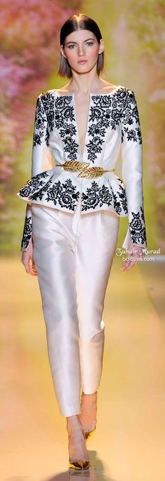 Zuhair Murad Spring 2014 Haute Couture Collection – Paris Fashion Week