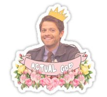 Supernatural - Cas/Misha Sticker