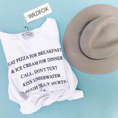 Wildfox Couture sweater | Ophelia Swimwear | | Seacrest, FL & Seaside, FL | www.opheliaswimwear.com