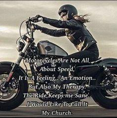 Easy Rider, Motorcycle Memes, Women Motorcycle Quotes, Motorcycle Girls, Hyabusa Motorcycle, Motorcycle Riding Quotes, Motorcycle Garage, Vespa, Scooters
