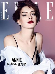 Anne Hathaway for Elle UK by Kai Z Feng