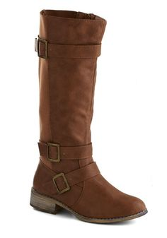 Fiddle Me This Boot in Chestnut, #ModCloth