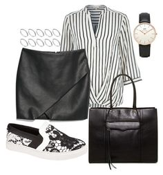 """Untitled #193"" by heyimsara on Polyvore featuring River Island, MANGO, Topshop, Rebecca Minkoff, Steve Madden and ASOS"