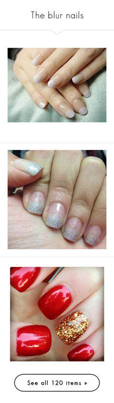 """""""The blur nails"""" by abbitsachan ❤ liked on Polyvore featuring beauty products, nail care, nails, nail treatments, beauty, makeup, nail polish, unhas, 37. nail polish. and nail art"""