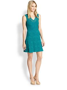 M Missoni - Lily-Of-The-Valley Jacquard Dress