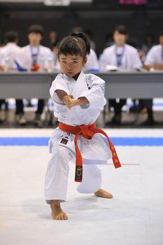 todayinmykarate:  Mahiro. Japan's child prodigy.