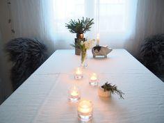 Chrismassy table