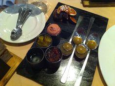 The chutneys at Tassili at Grand Hotel, Jersey