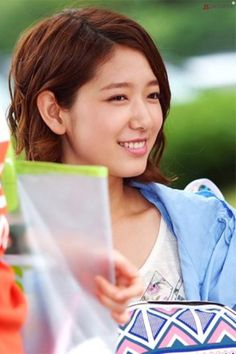 Park Shin Hye in Heartstrings. Love her hair!