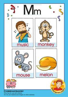 Preschool and Kindergarten Alphabet & Letters Worksheets Letter P Activities, Letter Worksheets, Kindergarten Worksheets, Preschool Activities, Letters For Kids, Phonics, Early Childhood, Alphabet Letters, Nyan Nyan