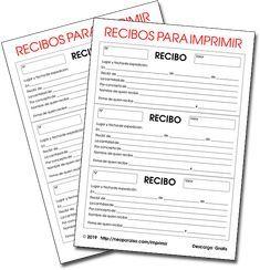Recibera Imprimible Recibos En Blanco Para Descargar Gratis Talonario De Recibos Formato De Recibo Ejemplo De Modelo D Recibo Modelo Imprimir Sobres Recibo
