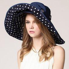 ba96066f9bf62 Flower Foldable Brimmed Hat Floppy Hats
