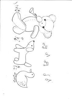[转载]小鹿手作:3月份群活动-小熊音乐会(有图案共享)