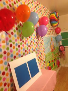 Candy land photo booth