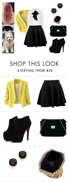 """""""★ Ellie Goulding - On My Mind ★"""" by muppets-cookie-monster ❤ liked on Polyvore featuring ASOS, Kate Spade and Blu Bijoux"""