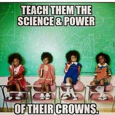 """""""Yes young queens are our future! 👉 for post on melanin queens! Black Women Art, Beautiful Black Women, Beautiful People, Black Girls Rock, Black Girl Magic, Coiffure Hair, Natural Hair Art, Natural Beauty, By Any Means Necessary"""