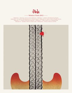 Fink - Wheels Tour 2012 - Design / Fred Debruycker