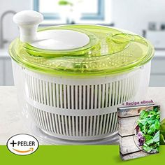 Salad spinner to hand-wash delicates