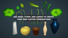 Flowers With Faces Pack on Unity Asset Store 4