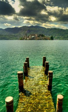 Orta San Giulio in Piedmont, Italy • photo: Fabio Montalto on Flickr