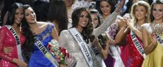 And your new Miss Universe is... Miss Venezuela, Gabriela Isler.  GUESS I DIDNT WIN THIS YEAR.